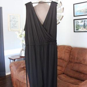 🎄<H&M> Black Pant Jumpsuit Size 2X